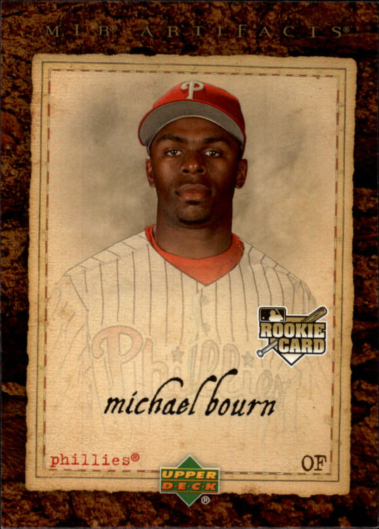 2007 Artifacts #91 Michael Bourn (RC)