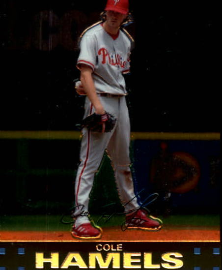 2007 Topps Chrome #28 Cole Hamels