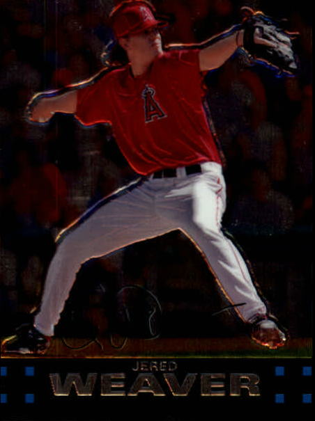 2007 Topps Chrome #37 Jered Weaver