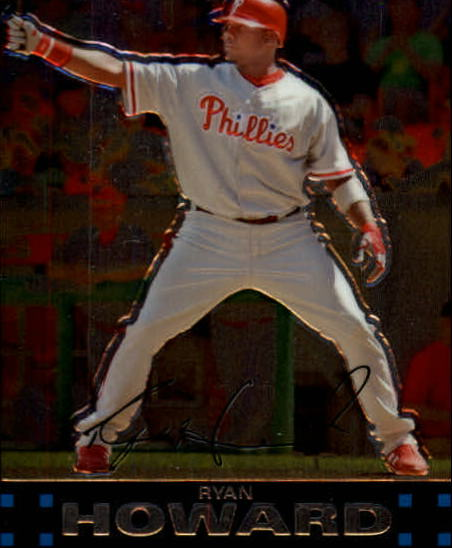 2007 Topps Chrome #121 Ryan Howard