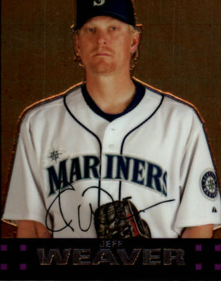2007 Topps Chrome #169 Jeff Weaver