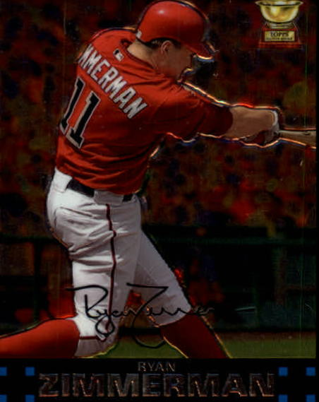 2007 Topps Chrome #250 Ryan Zimmerman