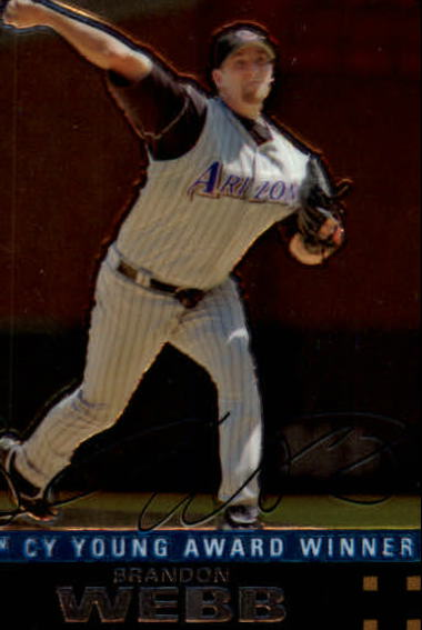 2007 Topps Chrome #253 Brandon Webb
