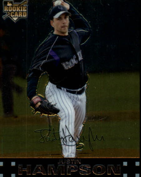 2007 Topps Chrome #321 Justin Hampson (RC)