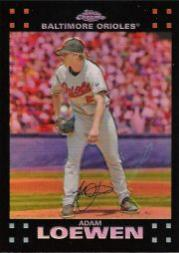 2007 Topps Chrome Refractors #40 Adam Loewen