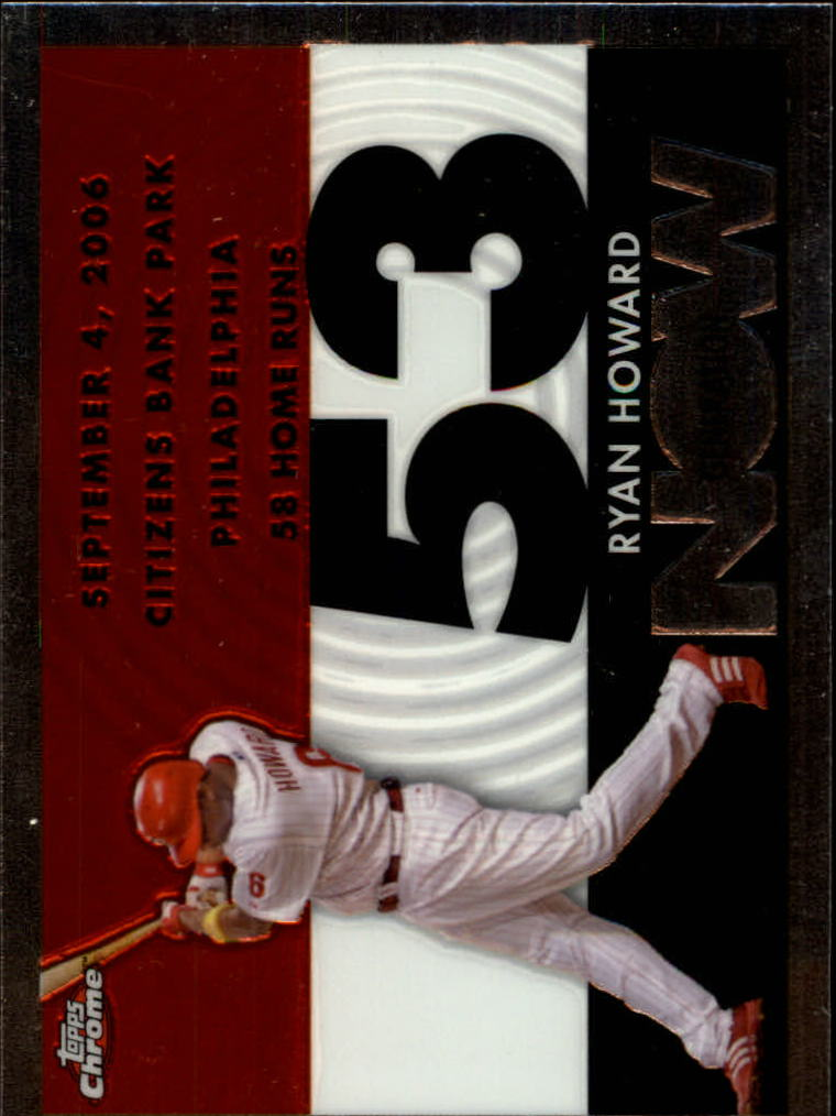 2007 Topps Chrome Generation Now #GN203 Ryan Howard