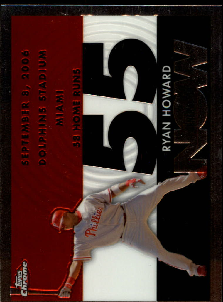 2007 Topps Chrome Generation Now #GN205 Ryan Howard