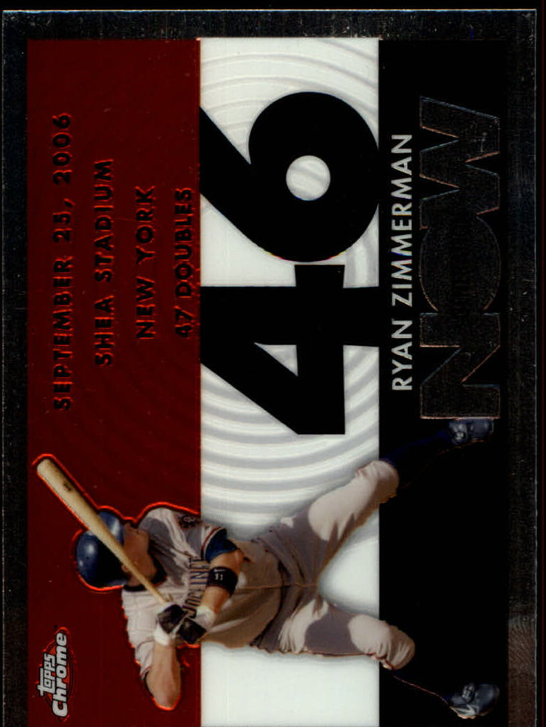 2007 Topps Chrome Generation Now #GN264 Ryan Zimmerman