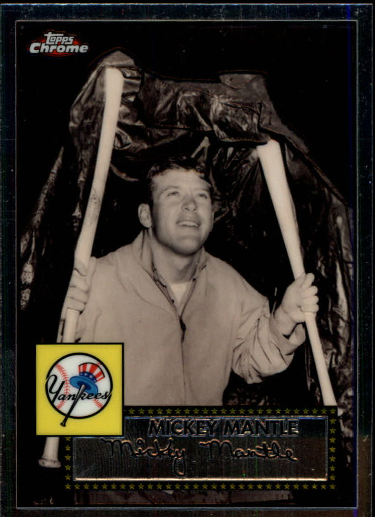 2007 Topps Chrome Mickey Mantle Story #MMS8 Mickey Mantle
