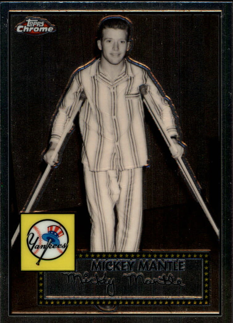 2007 Topps Chrome Mickey Mantle Story #MMS11 Mickey Mantle