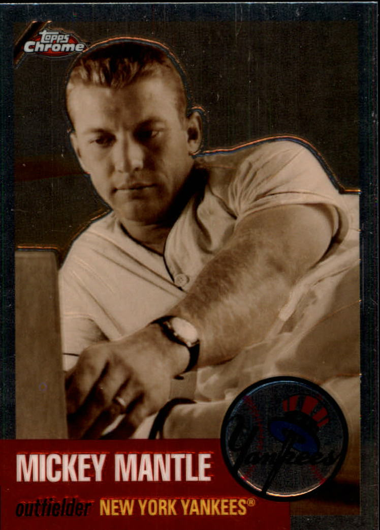 2007 Topps Chrome Mickey Mantle Story #MMS16 Mickey Mantle