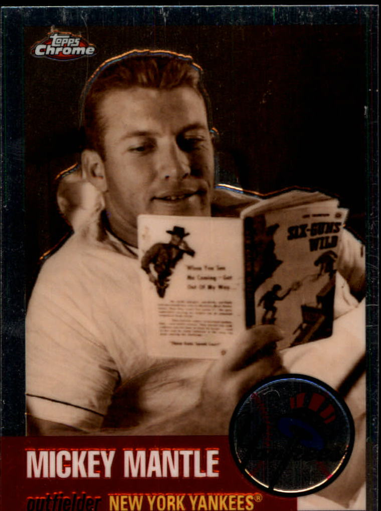2007 Topps Chrome Mickey Mantle Story #MMS22 Mickey Mantle