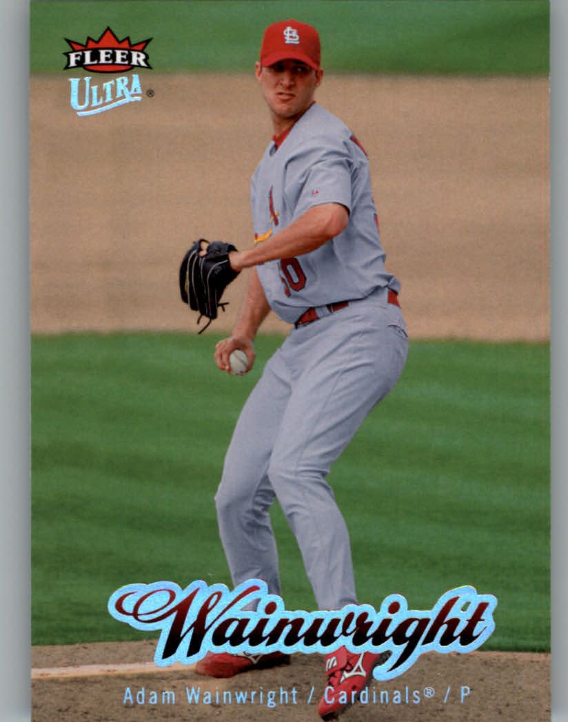 2007 Ultra #152 Adam Wainwright