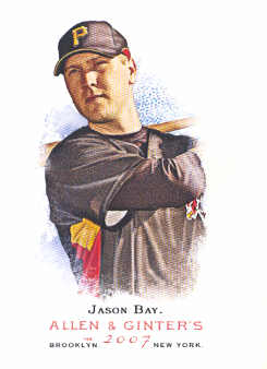 2007 Topps Allen and Ginter #10 Jason Bay