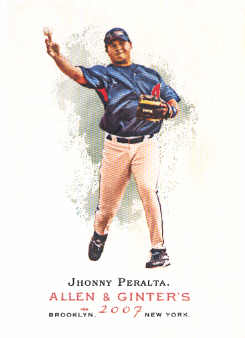 2007 Topps Allen and Ginter #17 Jhonny Peralta