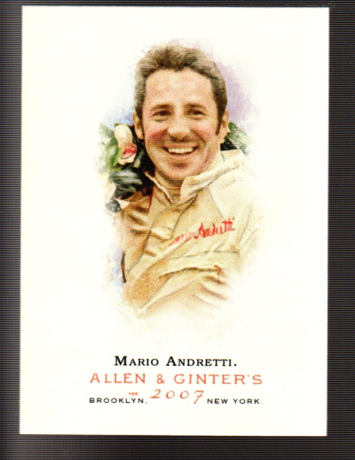 2007 Topps Allen and Ginter #19 Mario Andretti