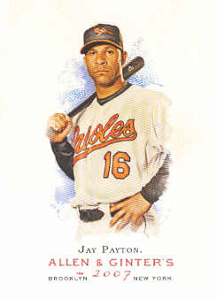 2007 Topps Allen and Ginter #25 Jay Payton