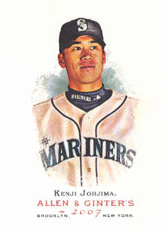 2007 Topps Allen and Ginter #31 Kenji Johjima