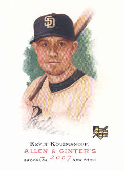 2007 Topps Allen and Ginter #36 Kevin Kouzmanoff