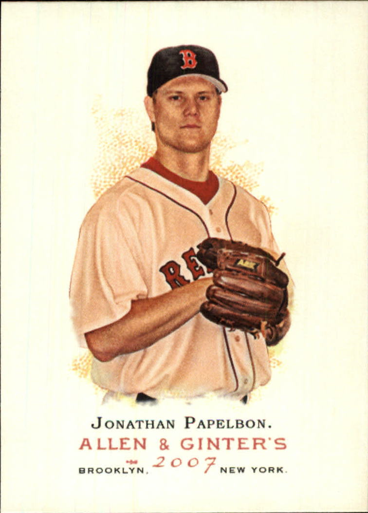 2007 Topps Allen and Ginter #37 Jonathan Papelbon