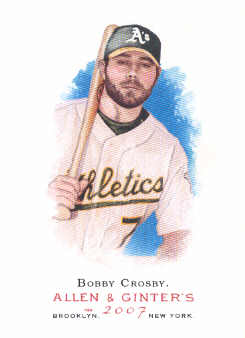 2007 Topps Allen and Ginter #38 Bobby Crosby