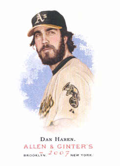 2007 Topps Allen and Ginter #51 Dan Haren