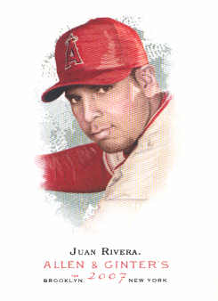 2007 Topps Allen and Ginter #54 Juan Rivera