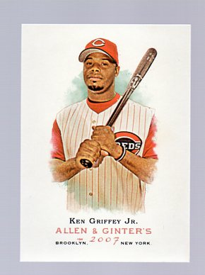 2007 Topps Allen and Ginter #55 Ken Griffey Jr.