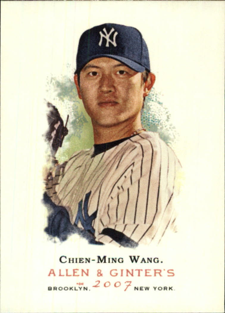 2007 Topps Allen and Ginter #56 Chien-Ming Wang
