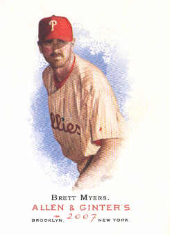 2007 Topps Allen and Ginter #64 Brett Myers