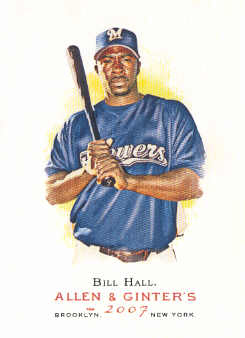2007 Topps Allen and Ginter #66 Bill Hall