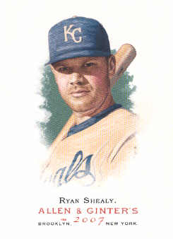 2007 Topps Allen and Ginter #67 Ryan Shealy