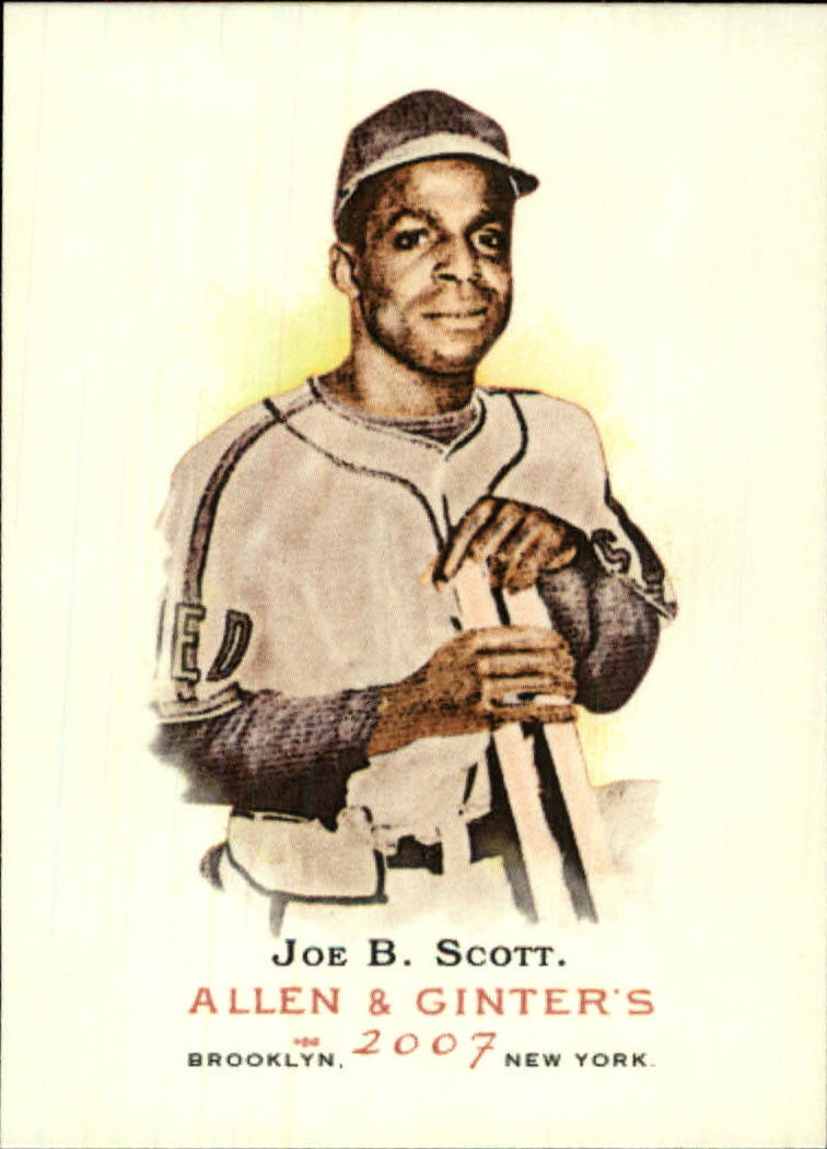 2007 Topps Allen and Ginter #68 Joe B. Scott
