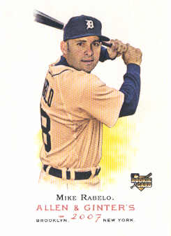 2007 Topps Allen and Ginter #69 Mike Rabelo RC