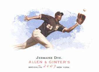 2007 Topps Allen and Ginter #70 Jermaine Dye