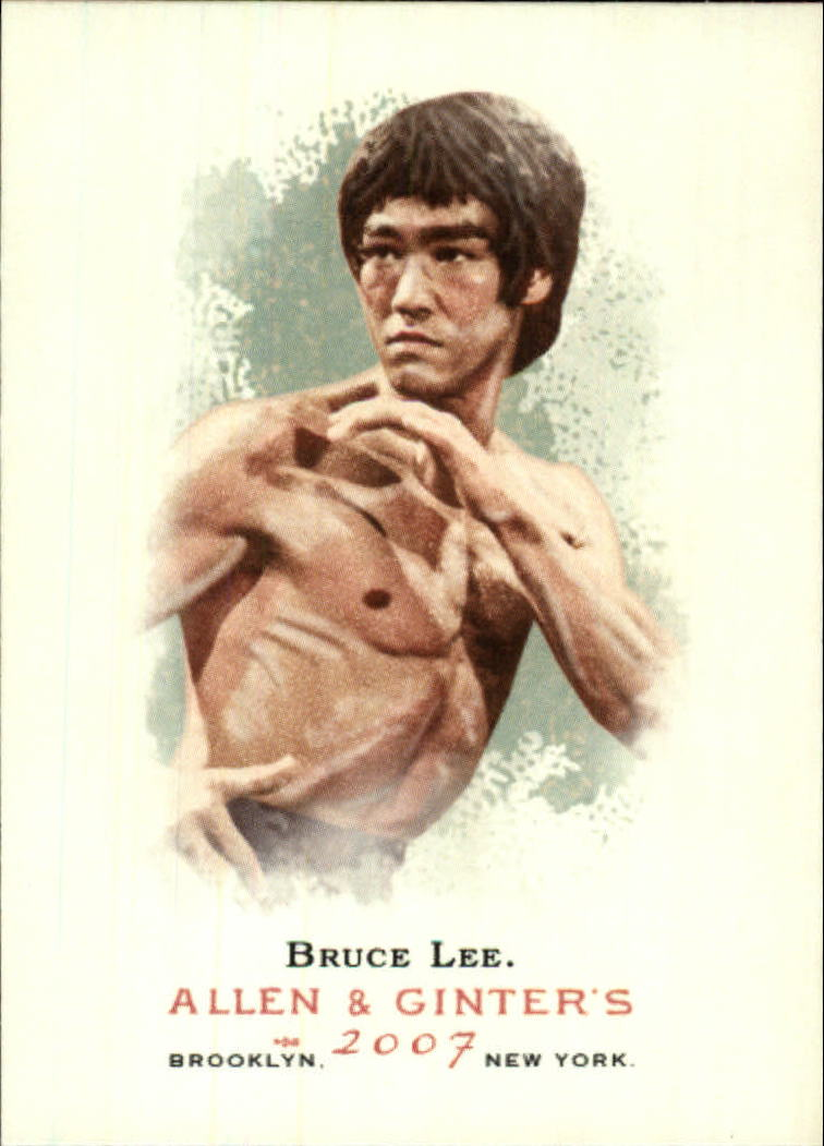 2007 Topps Allen and Ginter #72 Bruce Lee