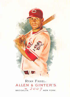 2007 Topps Allen and Ginter #77 Ryan Freel