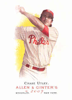 2007 Topps Allen and Ginter #80 Chase Utley