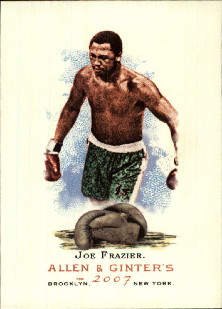 2007 Topps Allen and Ginter #82 Joe Frazier