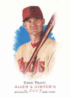 2007 Topps Allen and Ginter #93 Chad Tracy