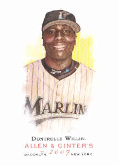 2007 Topps Allen and Ginter #96 Dontrelle Willis