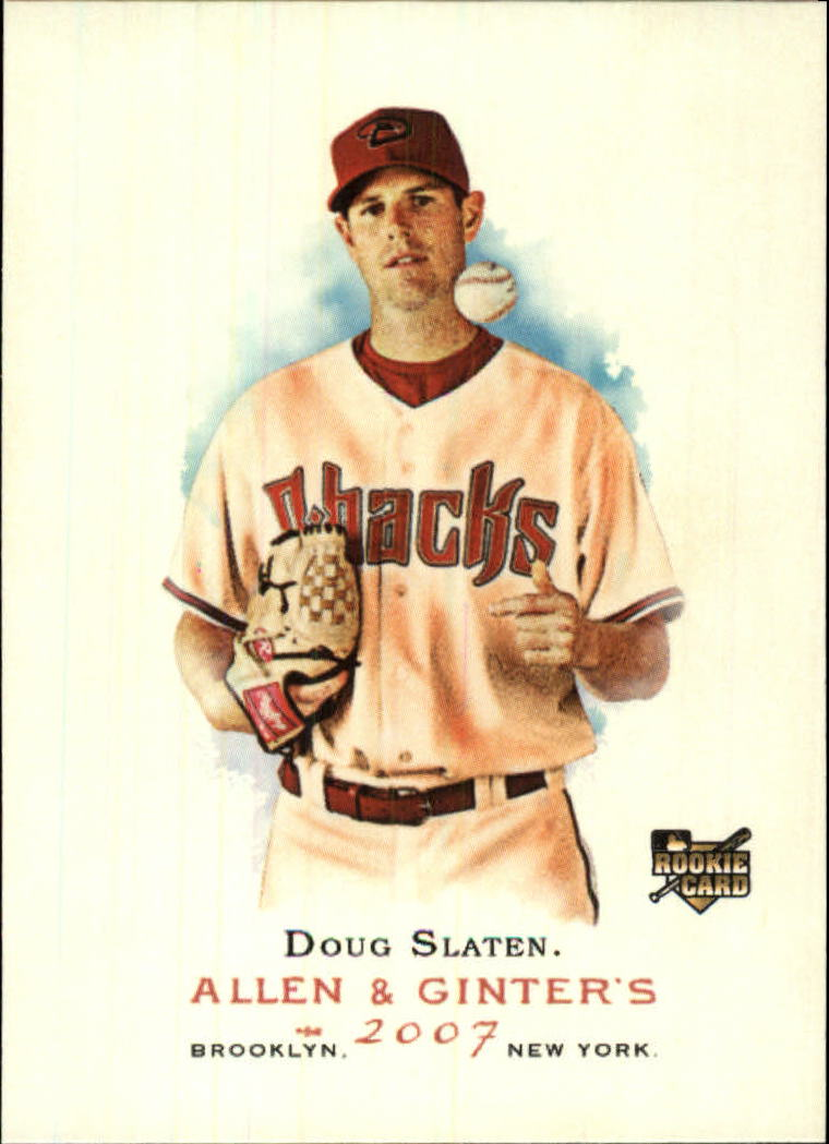 2007 Topps Allen and Ginter #97 Doug Slaten RC