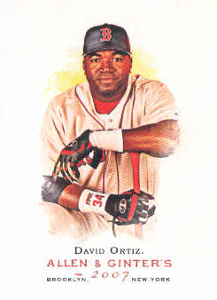 2007 Topps Allen and Ginter #100 David Ortiz