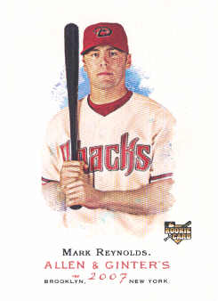 2007 Topps Allen and Ginter #101 Mark Reynolds RC