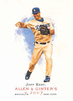 2007 Topps Allen and Ginter #104 Jeff Kent