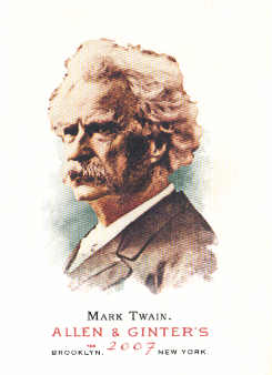 2007 Topps Allen and Ginter #108 Mark Twain