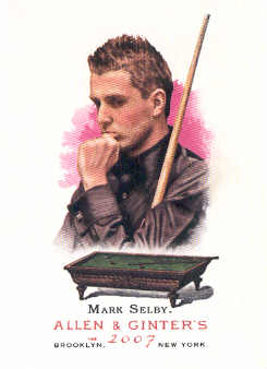 2007 Topps Allen and Ginter #124 Mark Selby