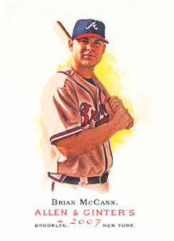 2007 Topps Allen and Ginter #141 Brian McCann