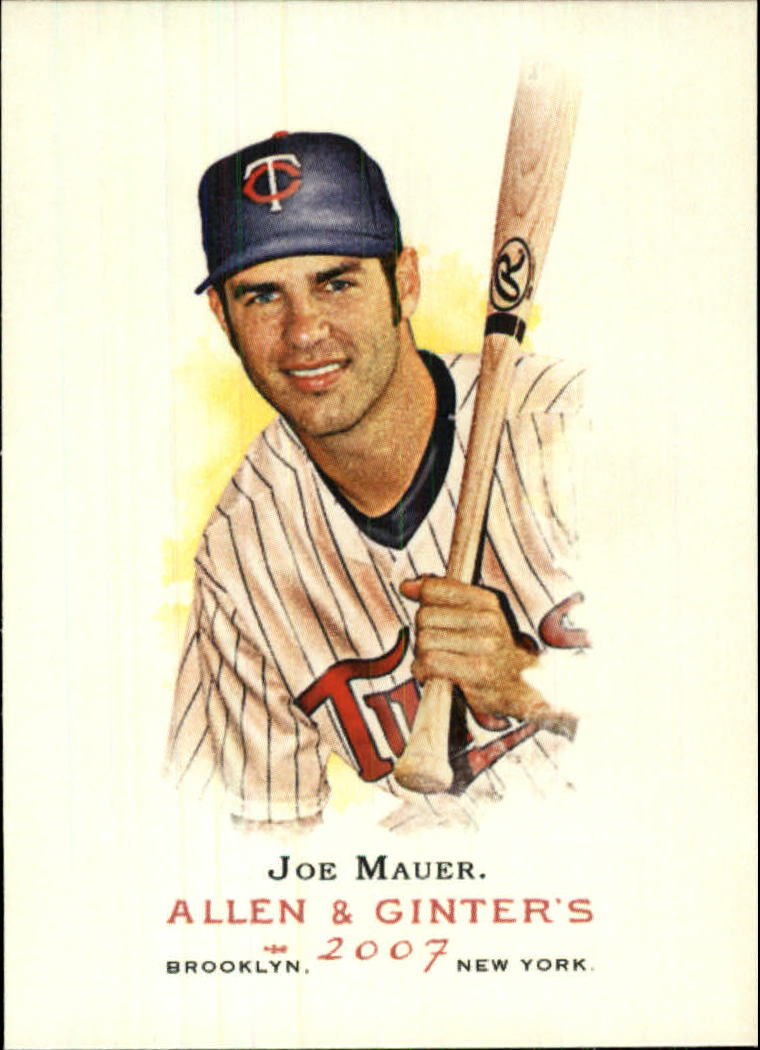 2007 Topps Allen and Ginter #165 Joe Mauer