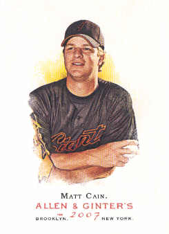 2007 Topps Allen and Ginter #179 Matt Cain